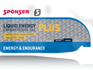 SPONSER LIQUID Energy Plus Gél (35g)- MÉZ
