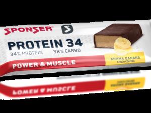 SPONSER PROTEIN 34 Bar (40g) – Banán