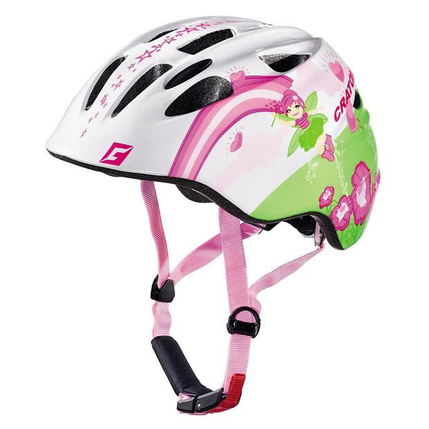 Cratoni Akino Fay White Pink Glossy