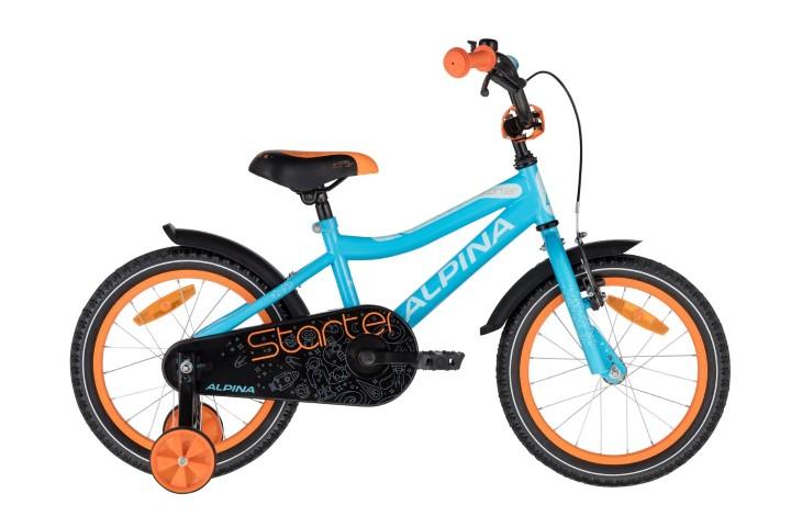 Alpina Starter Blue Orange 16